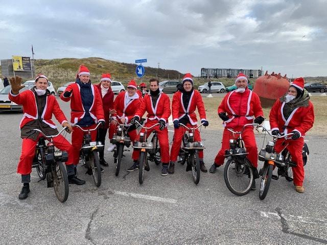 vlog 9 Solex Christmas Ride 2019